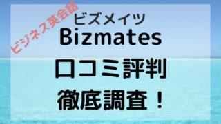 Bizmates 口コミ評判 徹底調査!